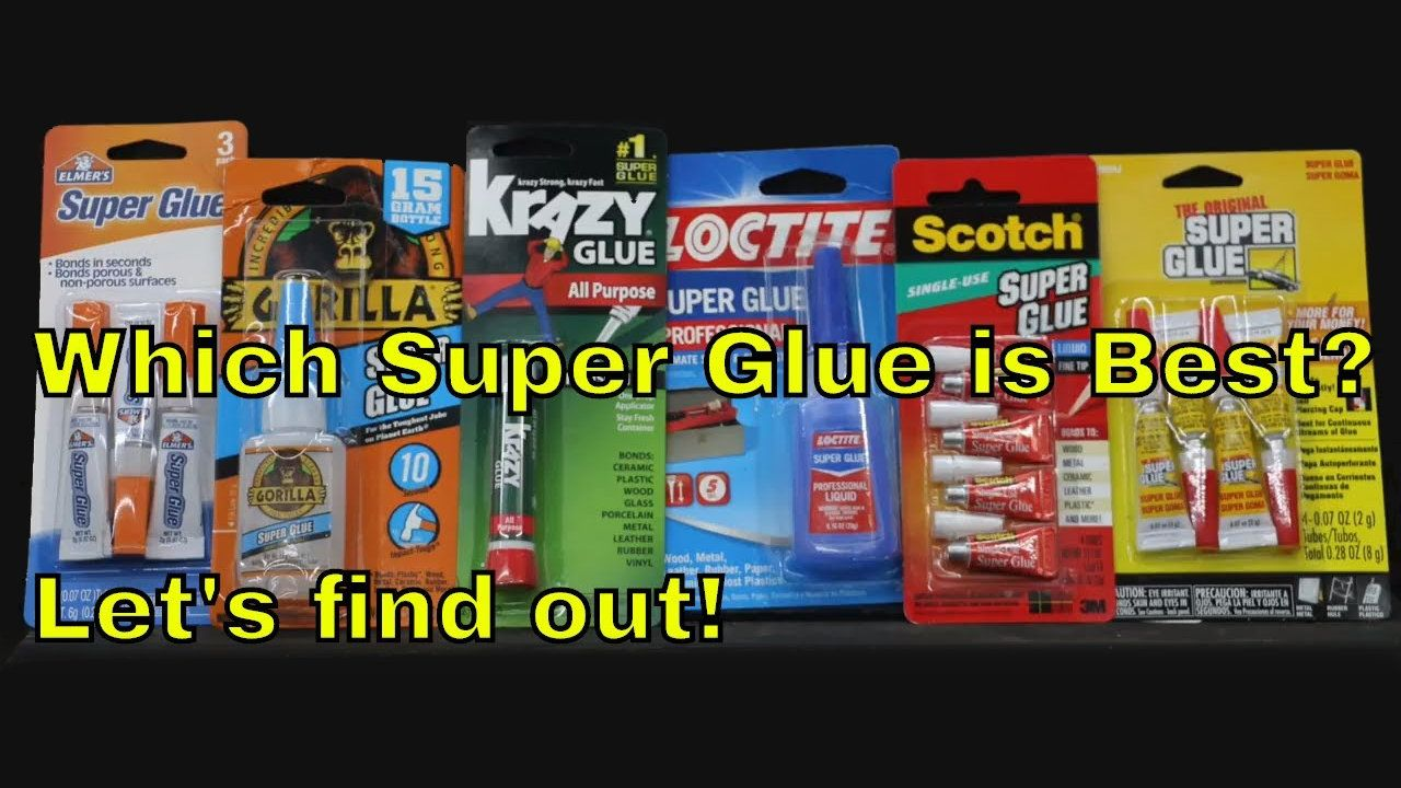 Super Glue Show Down Which Is Best Super Glue Household Hacks Fun Projects