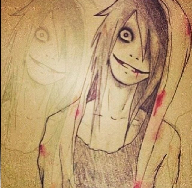It is a picture of Smart Jeff The Killer Anime Drawing