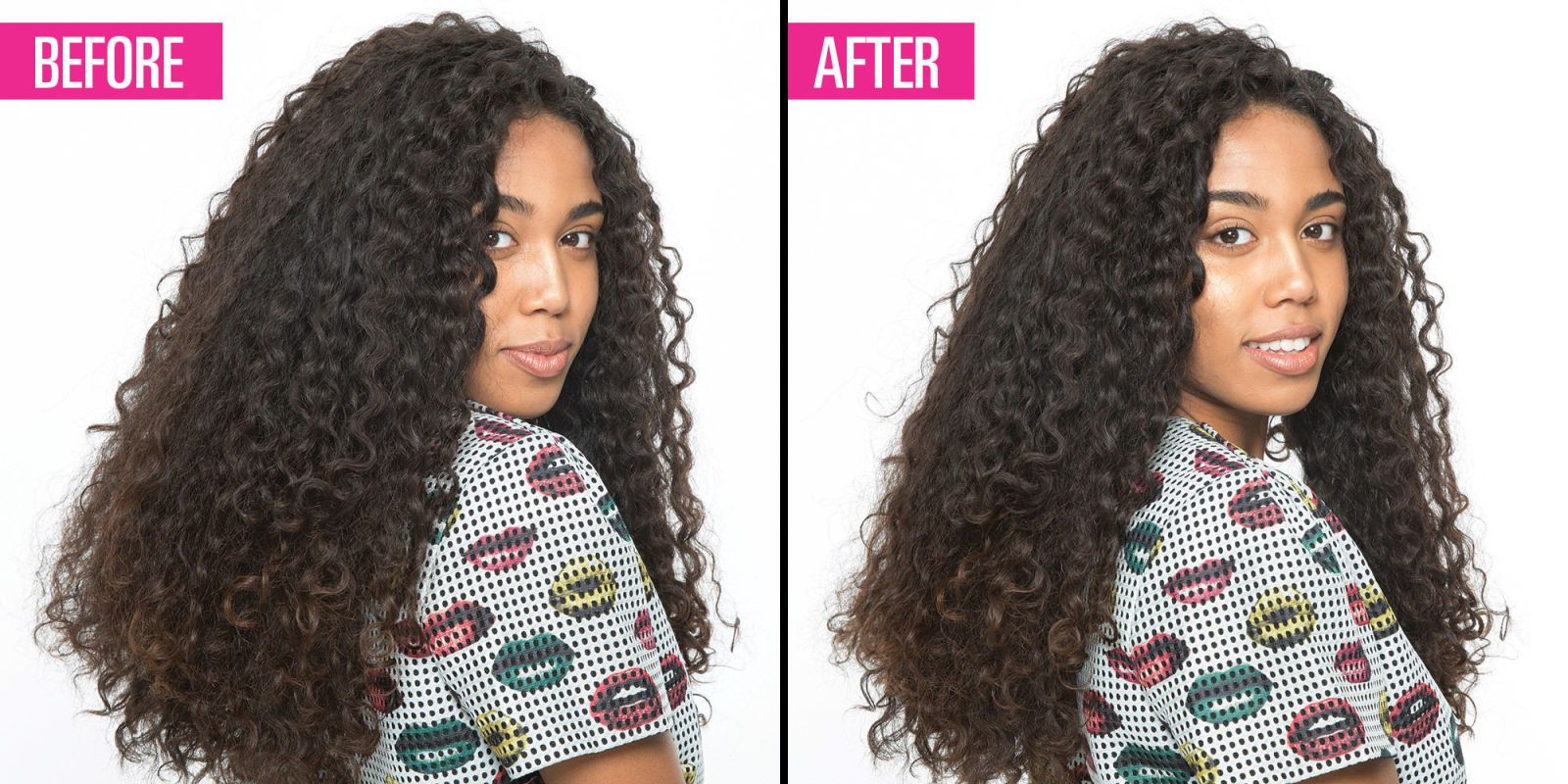 The Genius Way To Thin Out Super Thick Hair Without Getting