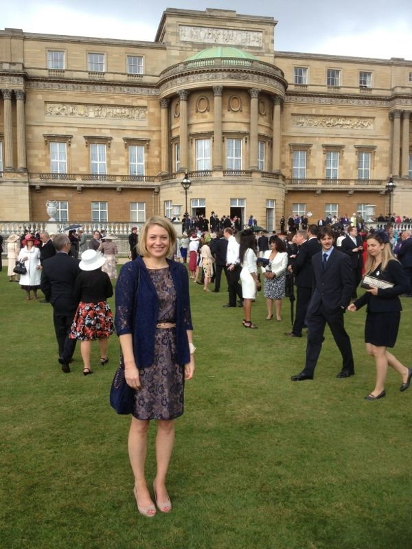 A By Malene Birger Dress For A Buckingham Palace Garden Party Unique U K Pinterest