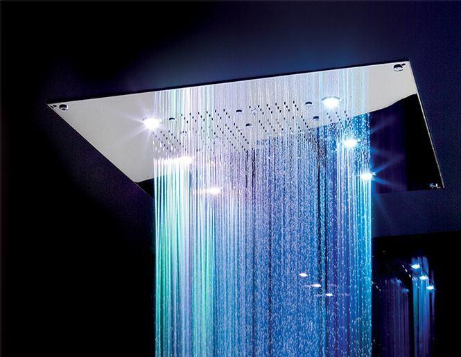 Cura Rain Shower Head Recessed Aquabrass Shower Fixtures Aquabrass Bath Design