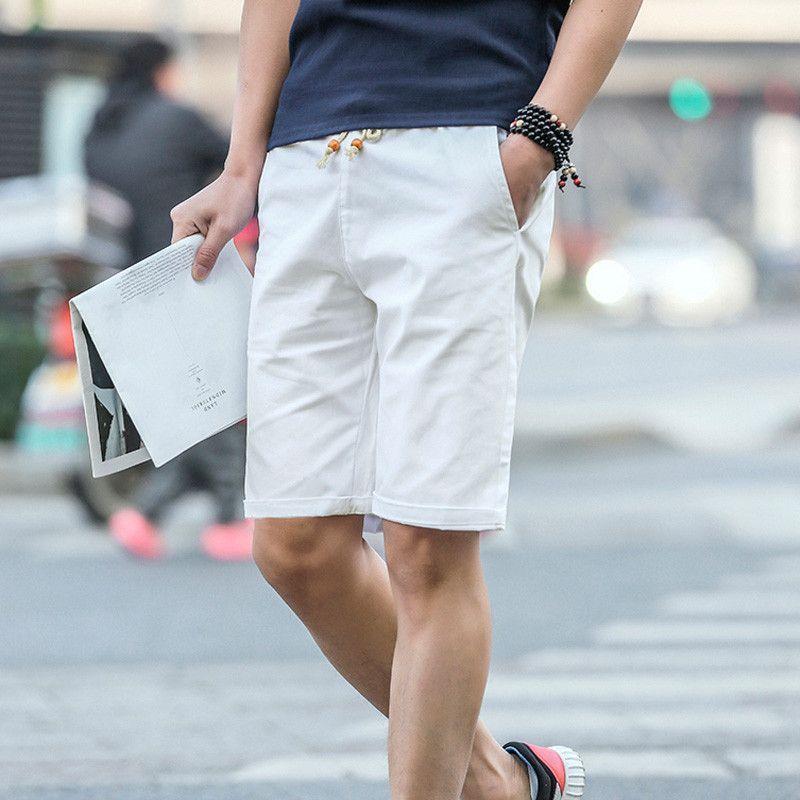 cdadc48bda6e Shorts Men Summer Fashion Casual Sport Cotton Slim Bermuda Masculina Beach  Shorts Trousers