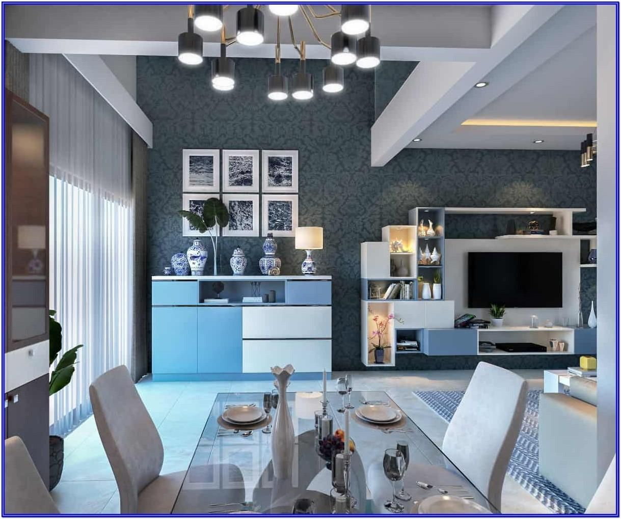 Living Hall Interior Design: Interior Design Ideas For Living Room Bangalore By Steven