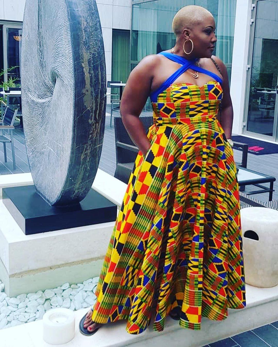 African Prints Dresses #weddingdress #lobolathings #lobola