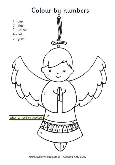 Colour by Number Angel childrenu0027s quilt,Art Pinterest - copy coloring pages of joseph and the angel