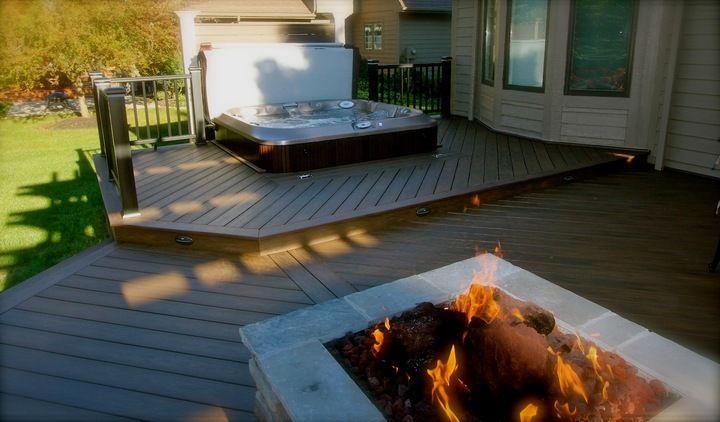 jacuzzi j 300 semi encastr dans une terrasse spas jacuzzi en ext rieur pinterest. Black Bedroom Furniture Sets. Home Design Ideas