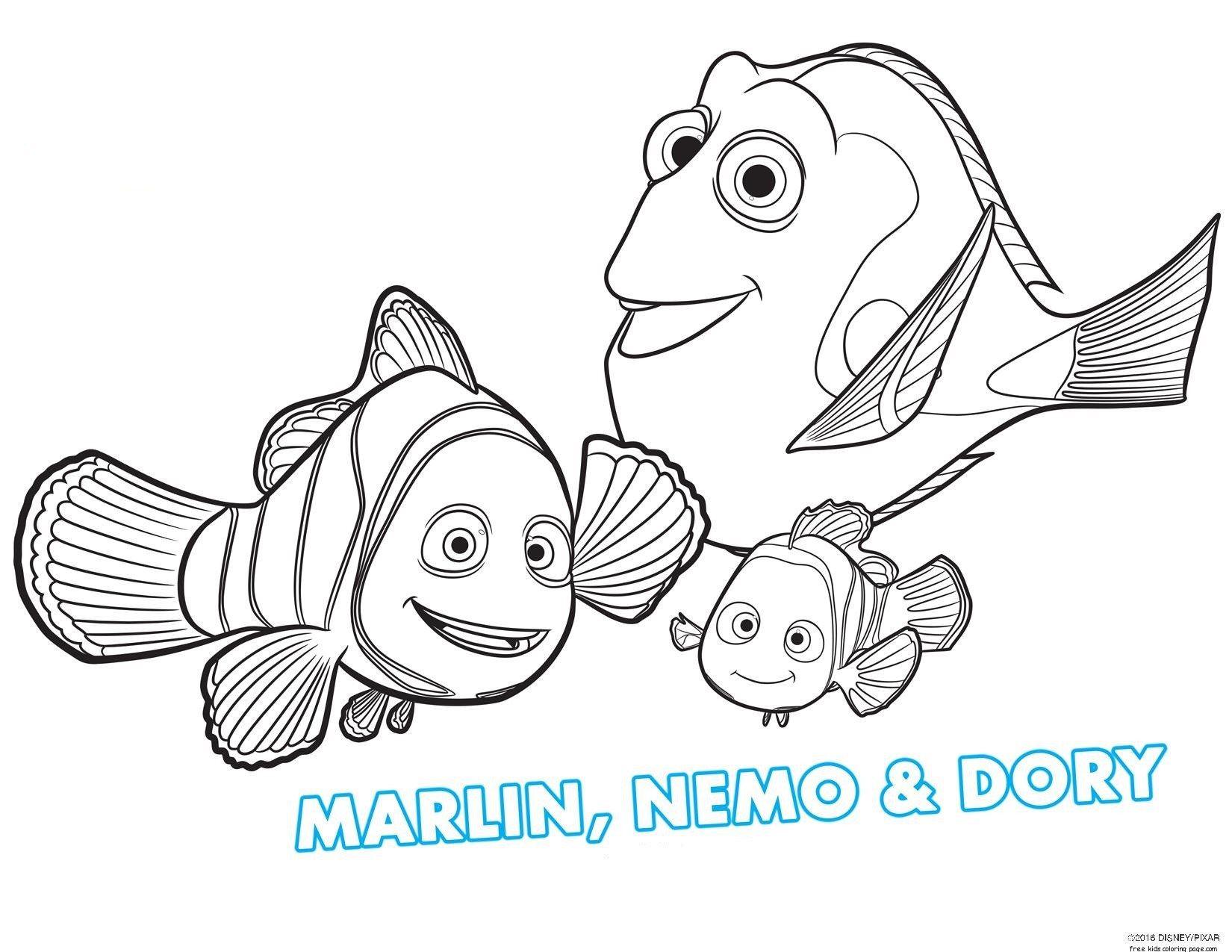Printable Disney Cartoon Characters Eeyore Coloring Page Nemo Coloring Pages Finding Nemo Coloring Pages Finding Dory Coloring Sheets