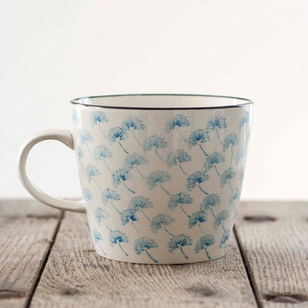 Dandelion Ceramic Mug In Turquoise Designed By Danish Tableware Company Nordal And Stylishly Simple This Mug Will Serve Up An Extra Special Cuppa Make Tazon