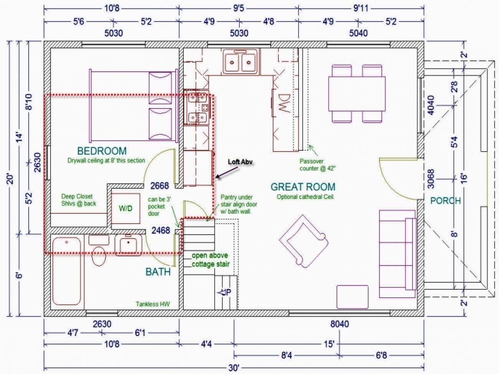 10 Inspiring English Cottage House Plans Cabin Floor Plans Loft Floor Plans Small House Floor Plans