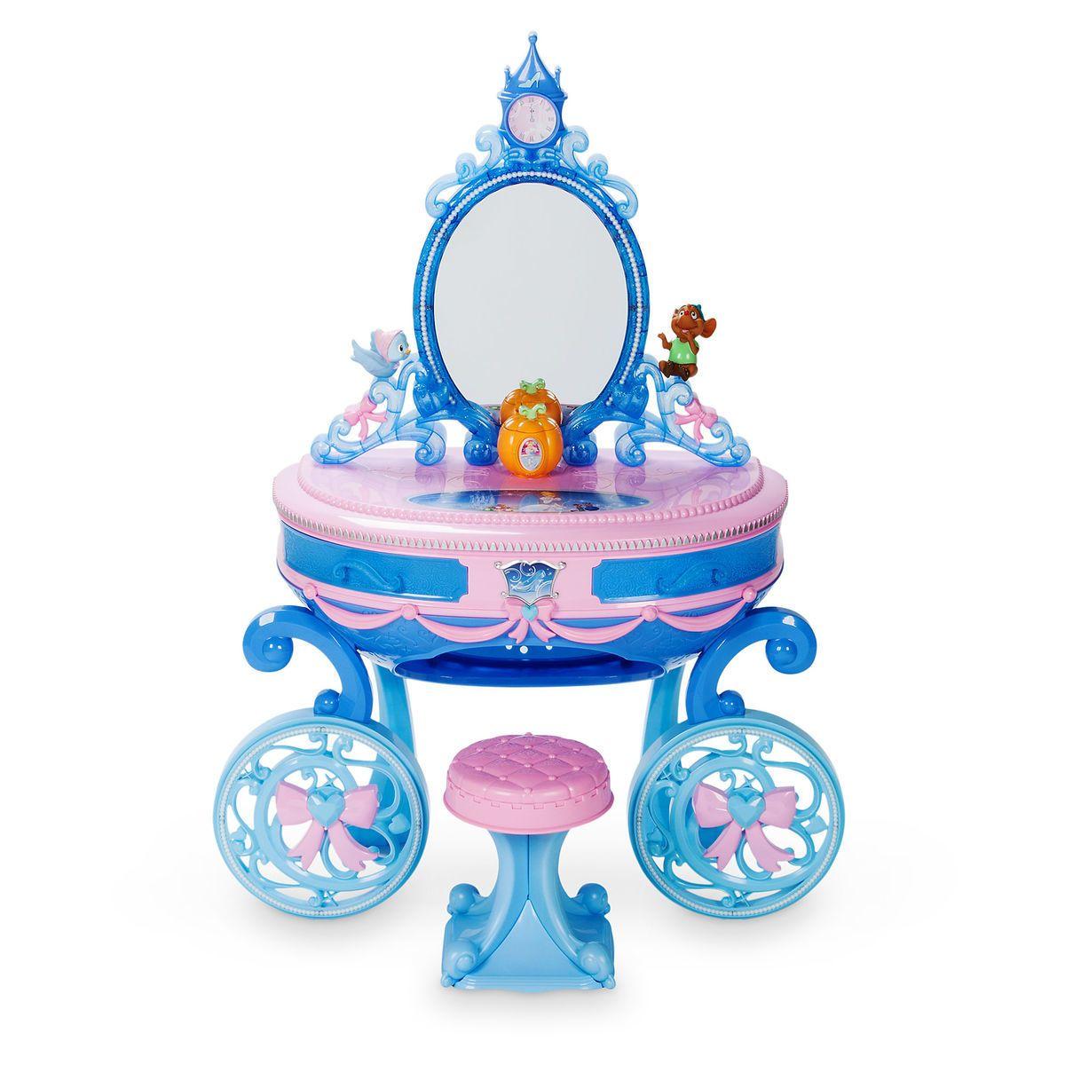 Cinderella Carriage Light Up Vanity Play Set Princess Toys Disney Princess Toys Baby Girl Toys