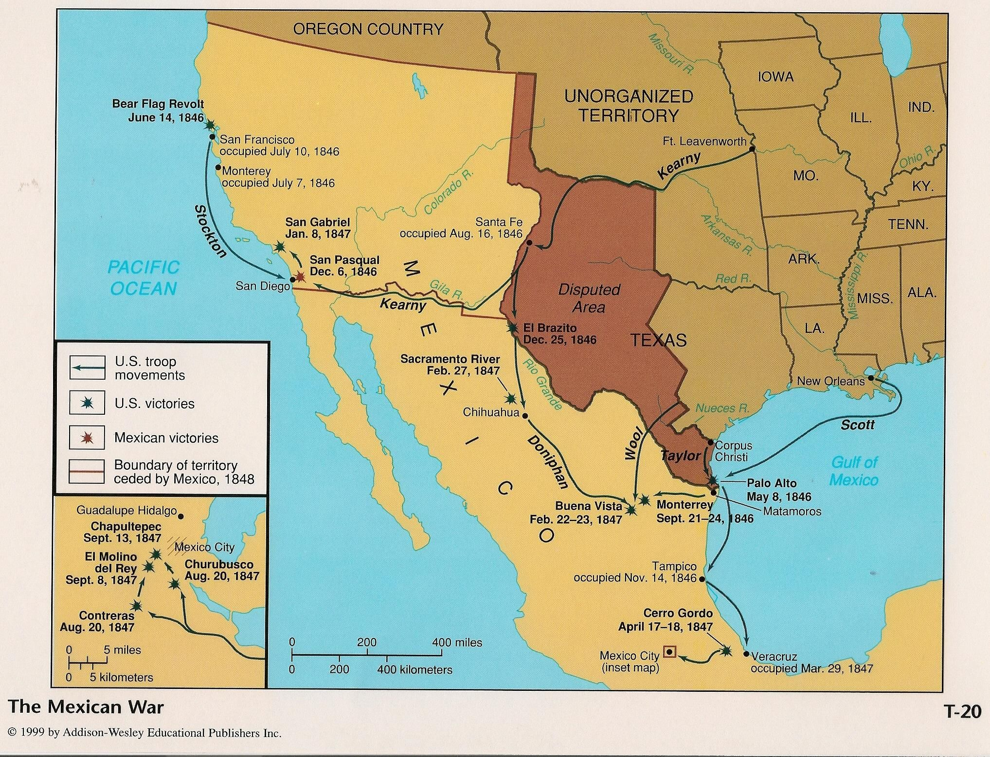 Texas Border Mexico United States Nueces Grande Google Search - Map of the us before the mexican american war