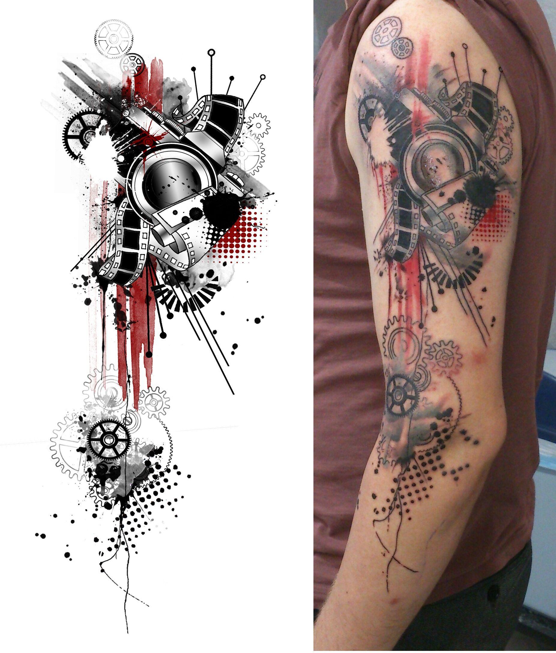 My Geometric Photoshop Style Tattoo Tattoos Tattoos Tattoo