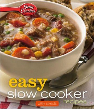 Easy crock pot recipes betty crocker