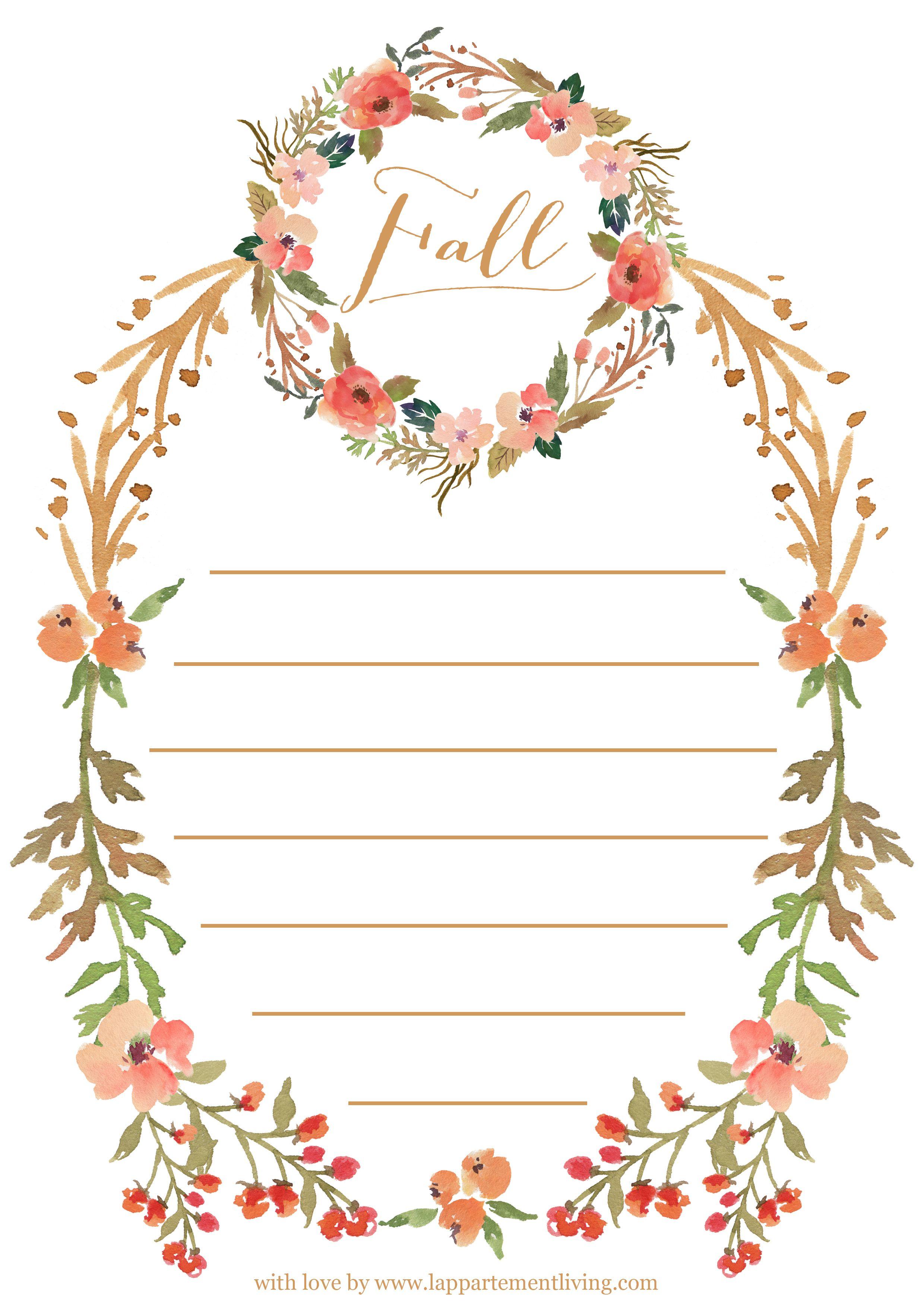 Diy to do list d 39 automne t l charger a imprimer to print automne diy automne et a - Image automne gratuite imprimer ...
