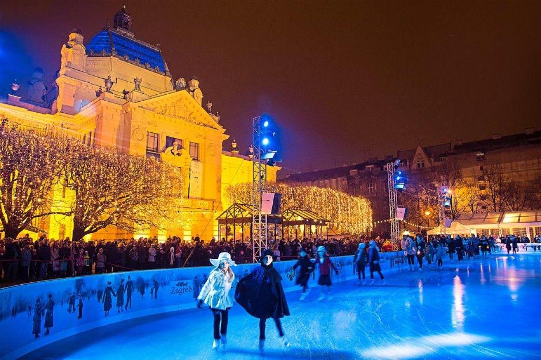 Christmas In Croatia Zagreb Croatia Weekend Is Over