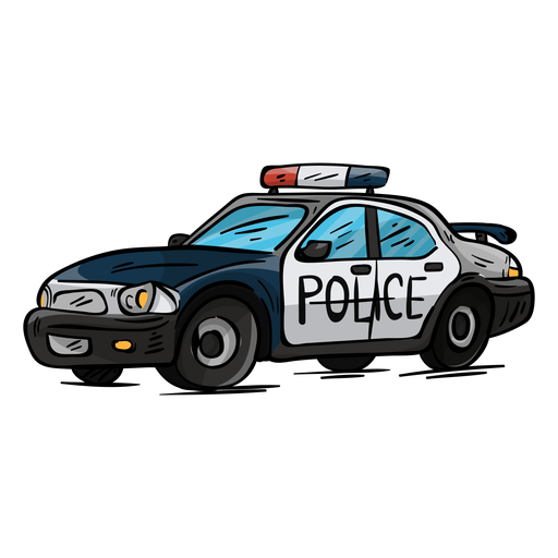 Car Police Headlight Illustration Ad Affiliate Sponsored Police Headlight Illustration Car Police Kids Police Car Car Drawing Easy
