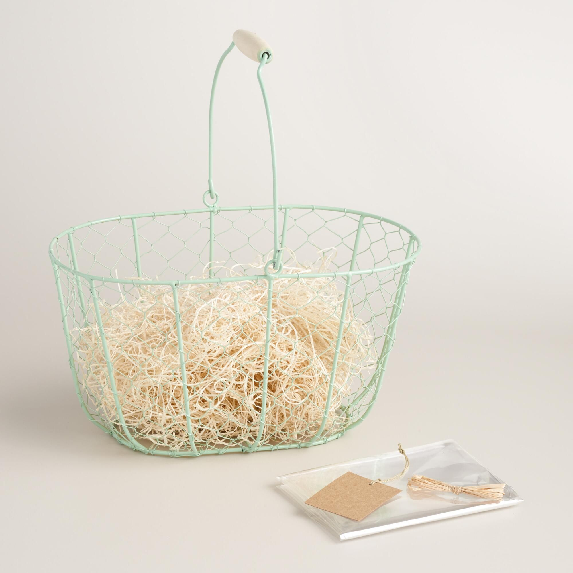 A fabulous way to gift for Easter and beyond, our basket kit ...