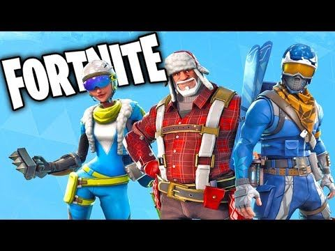 Fortnite New Christmas Skins And Update Fortnite Battle Royale