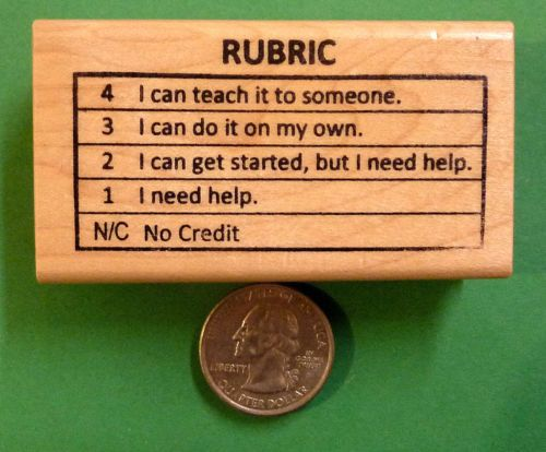 Teacher/'s Rubber Stamp wood mounted History Rules