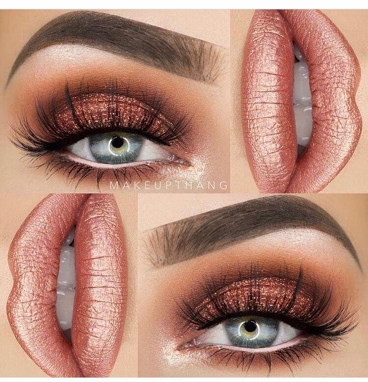 Holiday Eye Makeup #glittereyemakeup