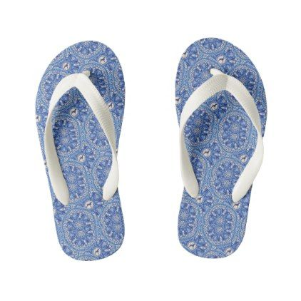 7620cbeaeb39  BLUE AND WHITE WEIM FLIP FLOPS KIDS BEACH SANDALS -  giftideas for  kids   babies  children  gifts  giftidea