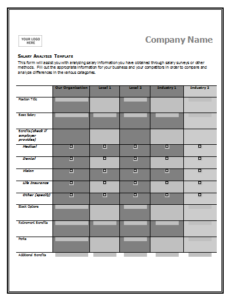 Salary Comparison Chart Template Templates Salary Compare And