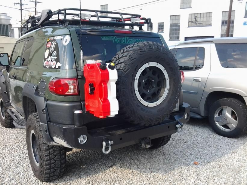 Expedition One Rear Swingout Bumper with RotoPax  Toyota FJ