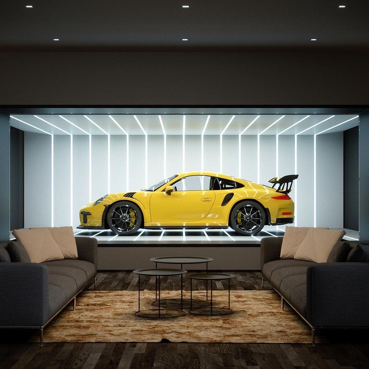 Home Goals Car Showroom Interior Garage Design Luxury Garage