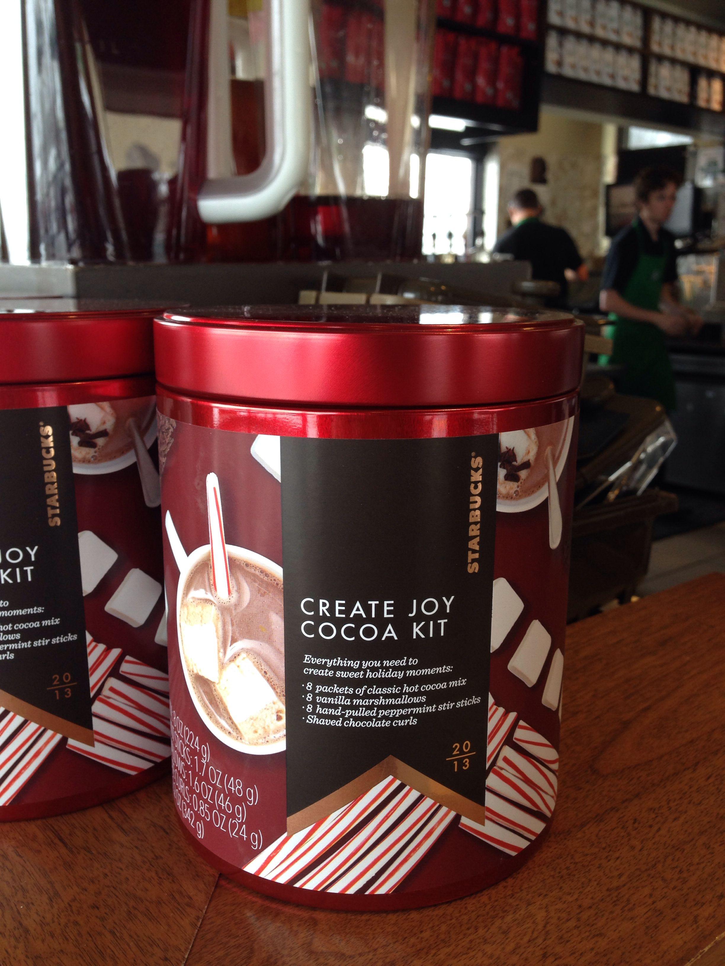 Starbucks hot cocoa peppermint kit starbucks hot hot