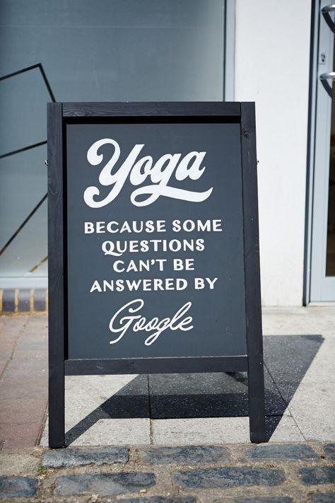Schön Yoga Sprüche