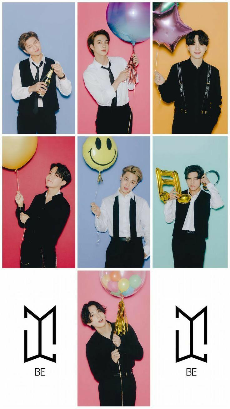 2021 New Year S Eve Live Bts Polaroid Bts Wallpaper Bts Playlist
