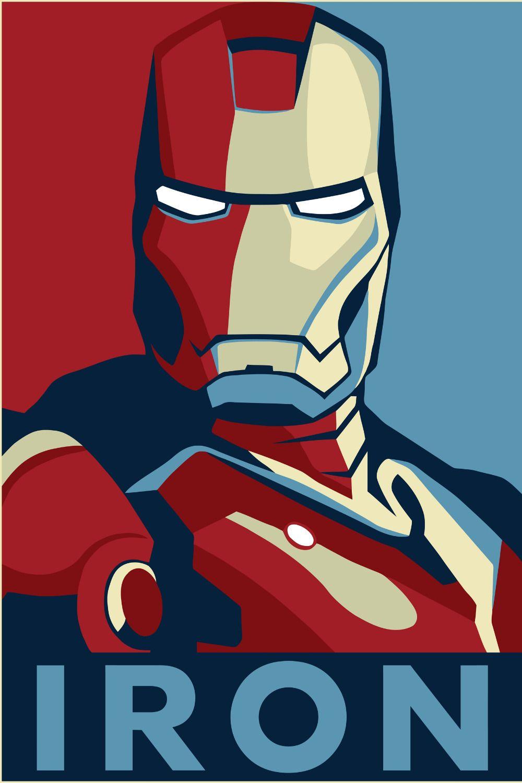 Pin by chris on iron man iron man poster iron man art - Marvel retro wallpaper ...