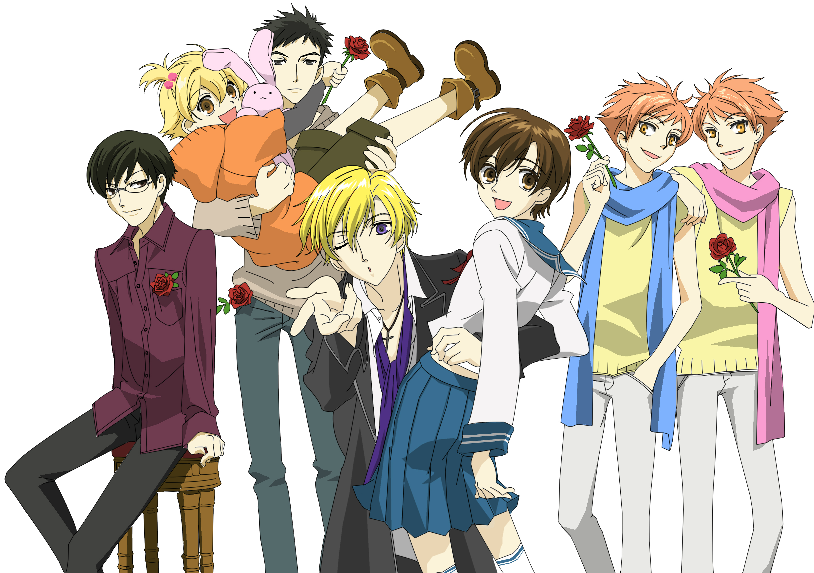 To Watch: Ouran High School Host Club | High school host club ...