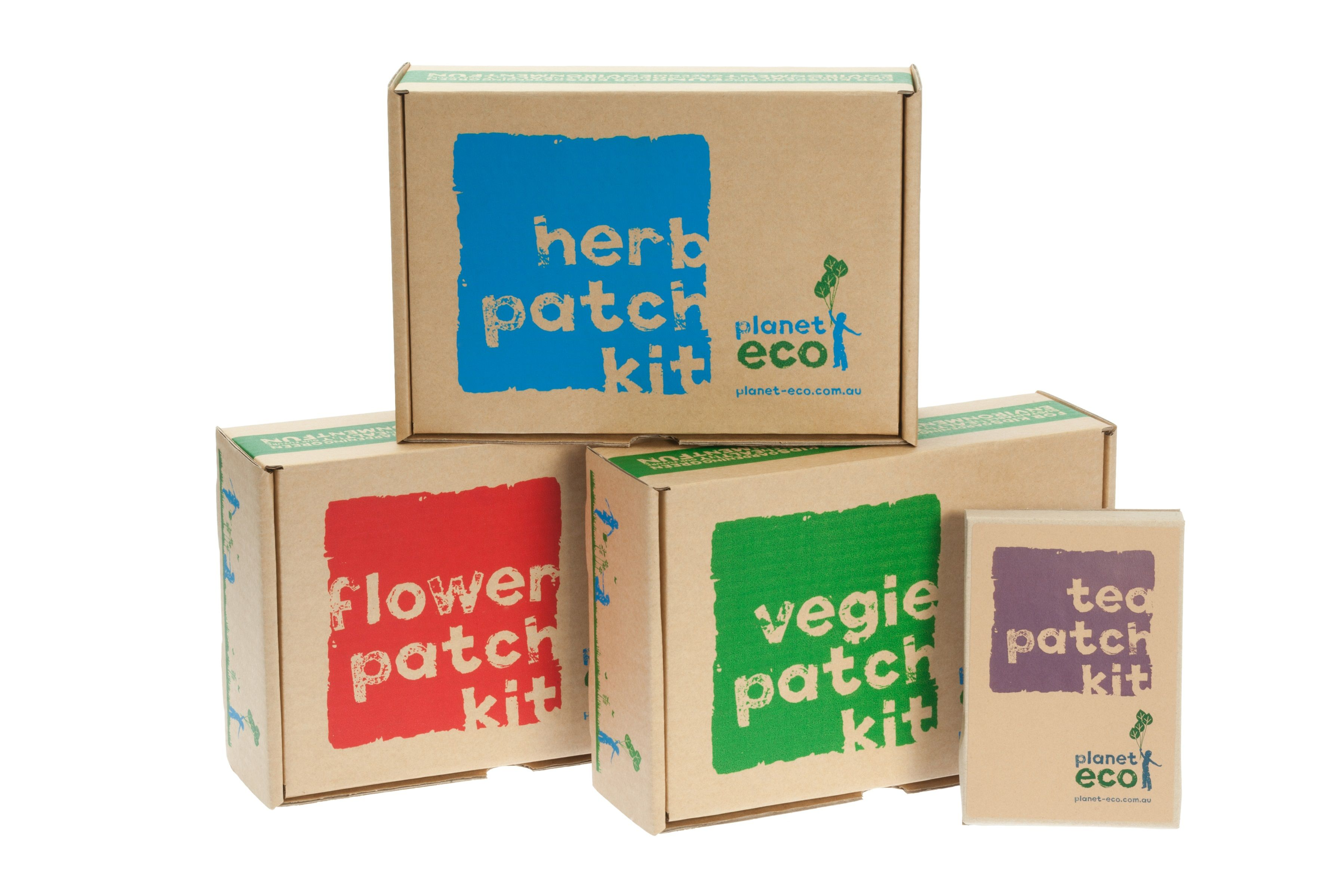 Vegie, Herb, Flower and Tea Patch Kits Gardening kits