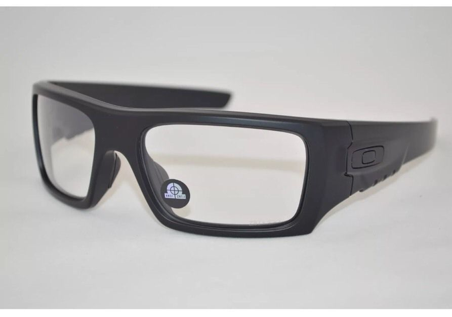 4dd41e651e69d Oakley® Glasses DET Cord Industrial ANSI Safety Approved Matte Black New