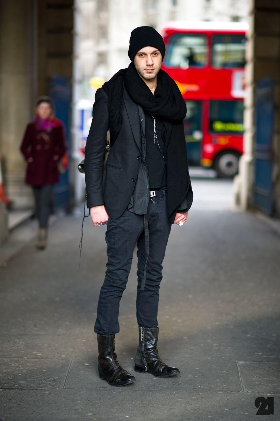 New York Winter Fashion Men