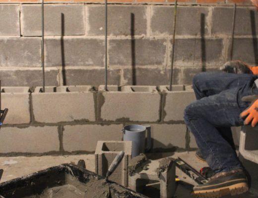 Repair Leaking Floor To Wall Joint Repair Floors Home Repairs Leaking Basement