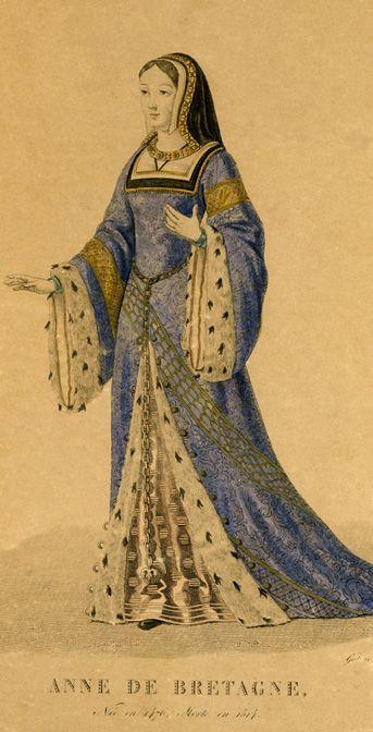 Anne De Bretagne De Licone Au Document