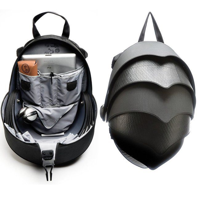 Uniquely Designed Backpack Inspired By The Pangolin Animal