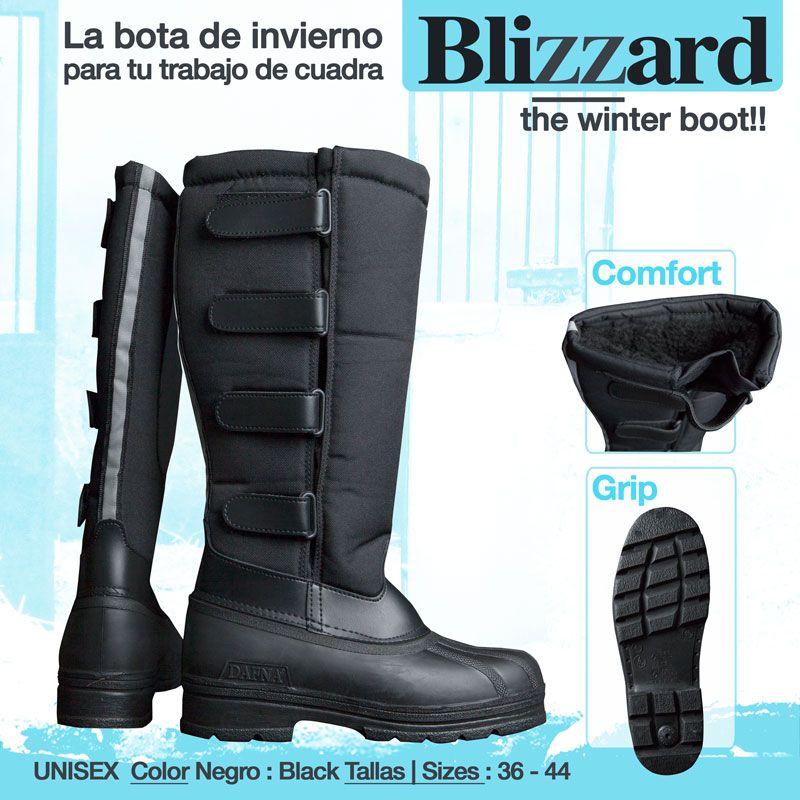 85b0cd39ff9 Bota de invierno BLIZZAR ❄ ❄ ❄ Ideal para frío y agua ...