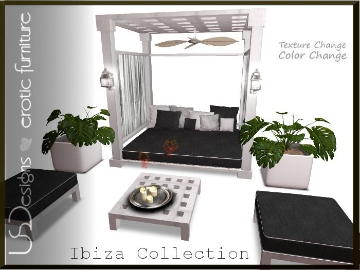 NEW!!! U.S.Designs Ibiza Outdoor set - 344 HQ animations - Xpose powered and Xcite! compatible