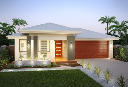 Brick single story house facades google search house for One story brick home designs