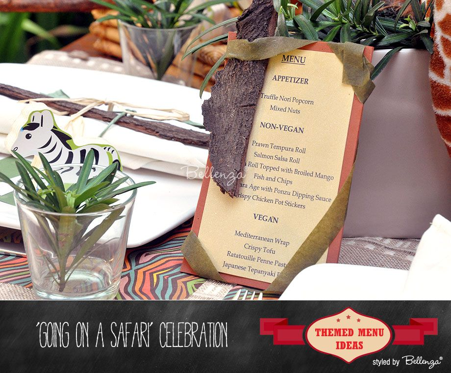 Creative Menu Card Ideas To Suit Your Party Theme With Images
