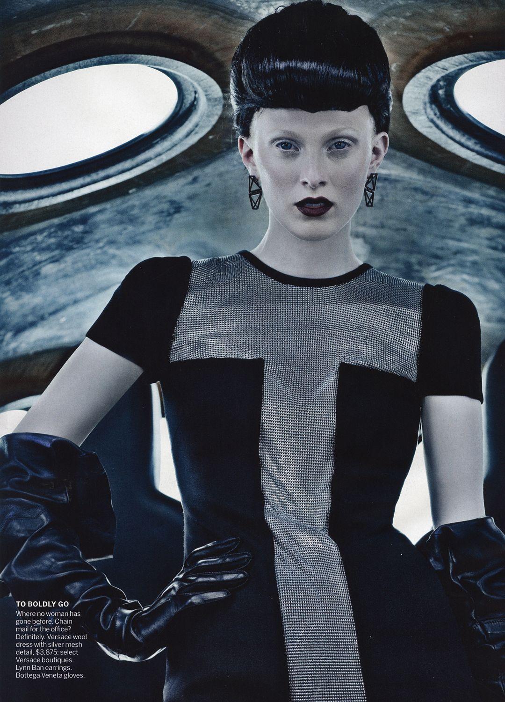 vogue editorial, space, futuristic