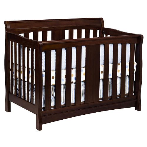 Davinci Rowan 4 In 1 Crib With Toddler Rail Espresso Davinci Babies R Us 249 Cribs Convertible Crib Toddler Furniture