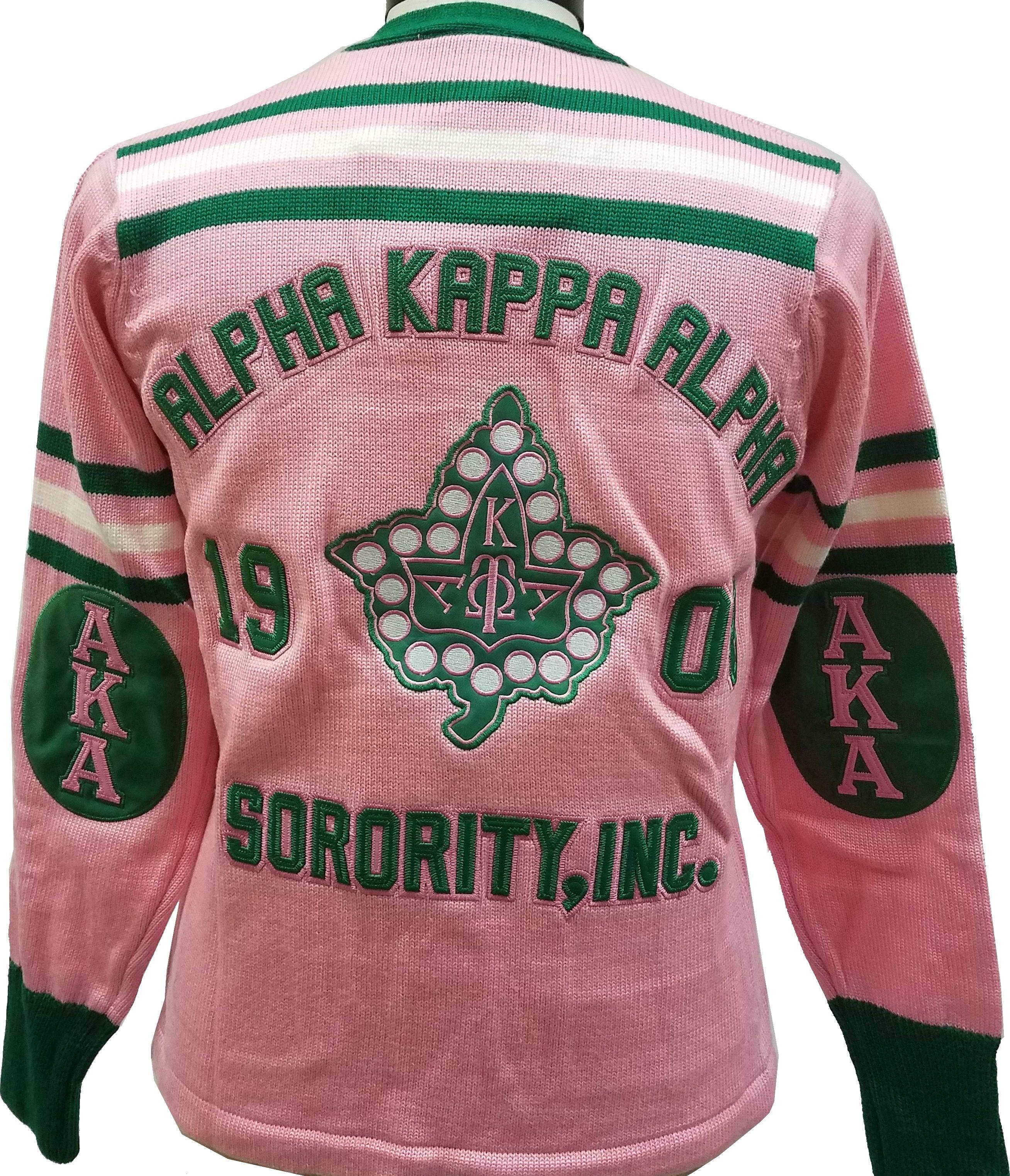 ff0392528 Buffalo Dallas Alpha Kappa Alpha Sorority Ladies Cardigan Sweater in ...