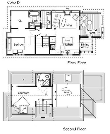 Small Homes By Ross Chapin Architects Small House Plans Empty