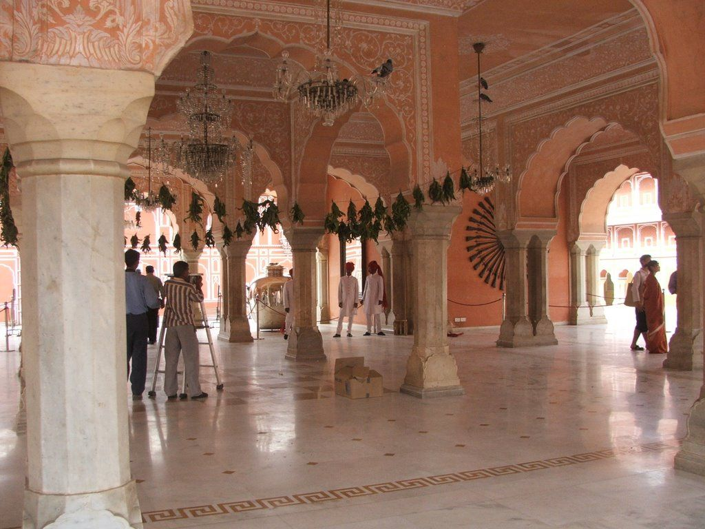 City Palace of Jaipur still houses the royal family which