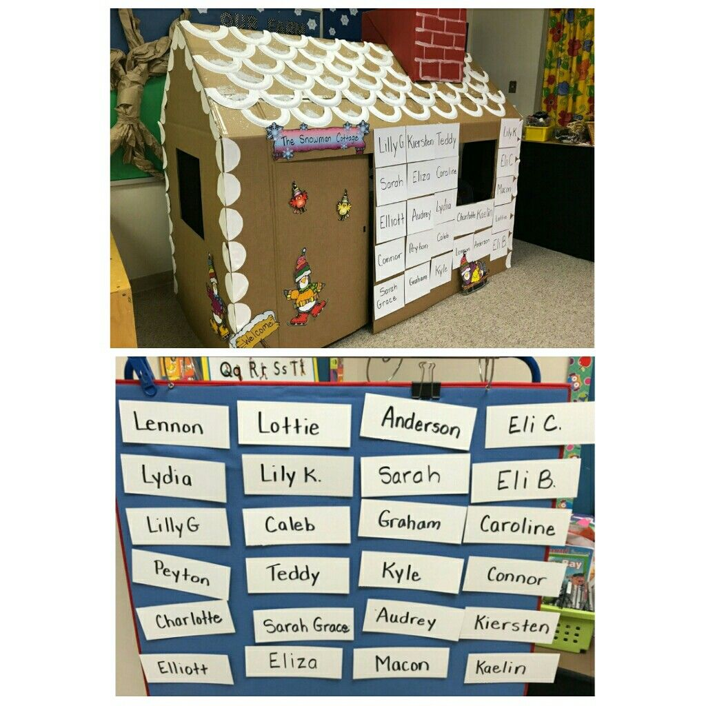 Gingerbread House Name Matching