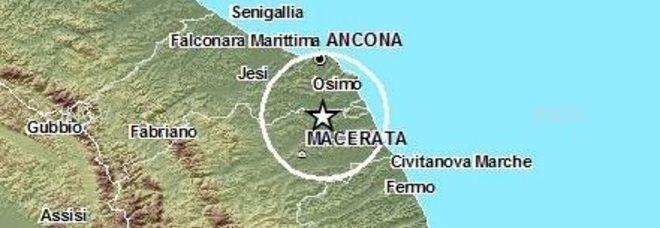 Terremoto nelle Marche: scossa di magnitudo 2.5. Epicentro nel Maceratese